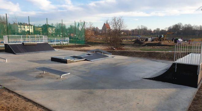 Pierwszy skatepark w Szydłowcu już działa