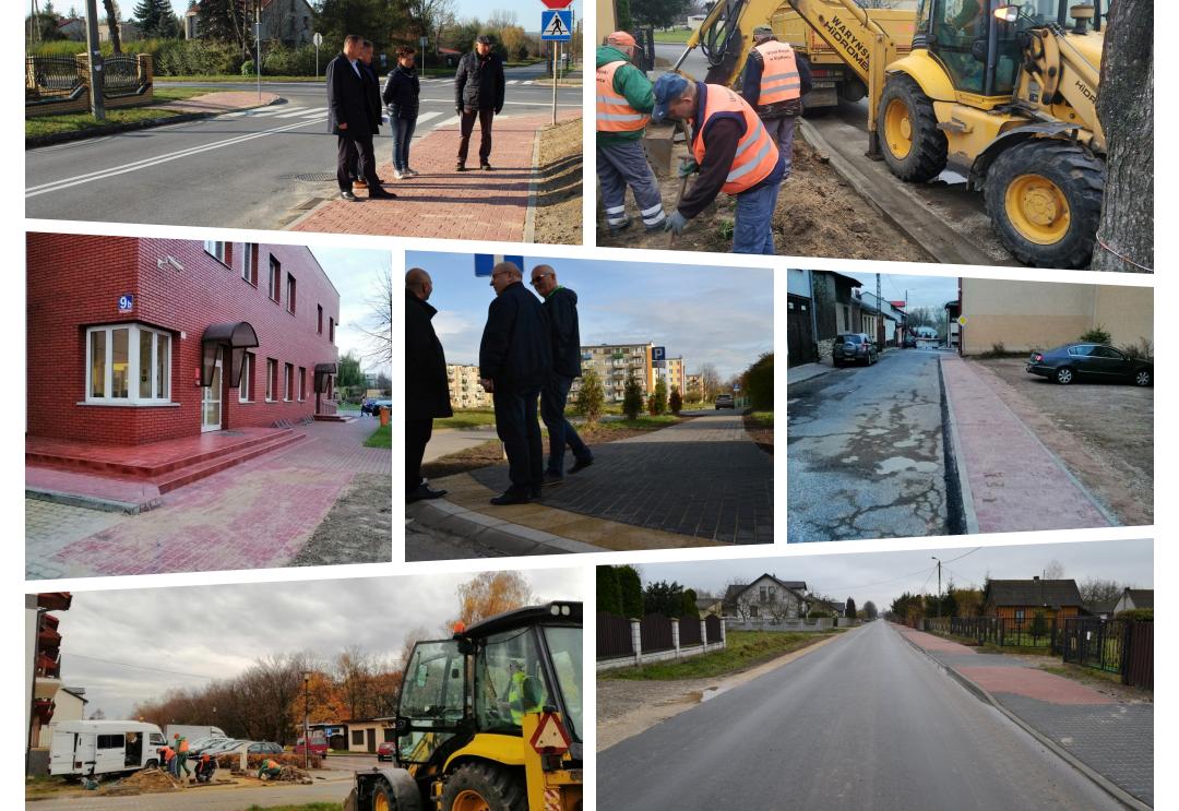 Gmina Szydłowiec realizuje jesienne drogowe prace