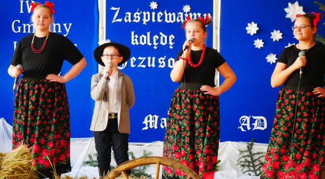 """""""Zaśpiewajmy kolędę Jezusowi"""" – konkurs w szkole w Majdowie"""