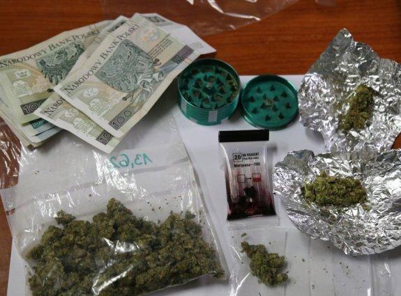 Zatrzymany za posiadanie narkotyków