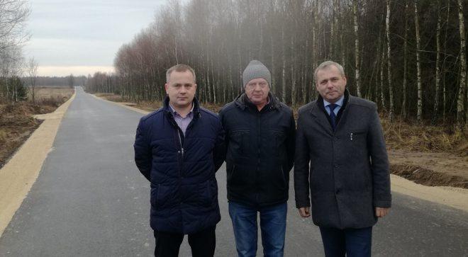 Ważna droga w gminie Jastrząb skończona