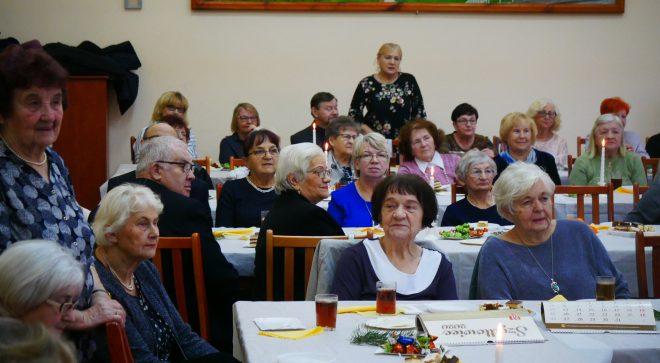 Spotkanie opłatkowe szydłowieckich emerytów