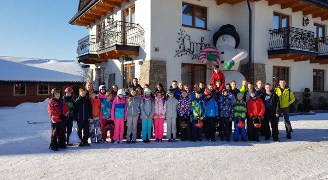 Szlifowali narciarskie umiejętności