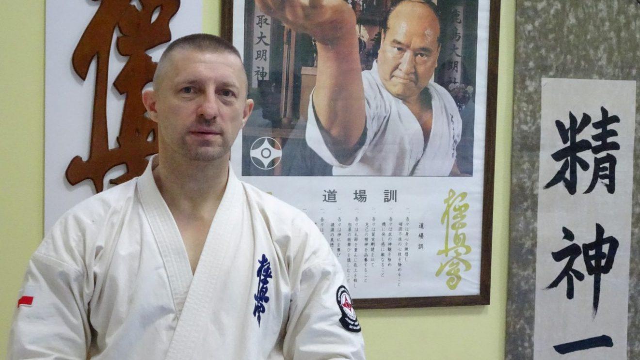 Robert Wyciszkiewicz doskonalił karate w Kijowie