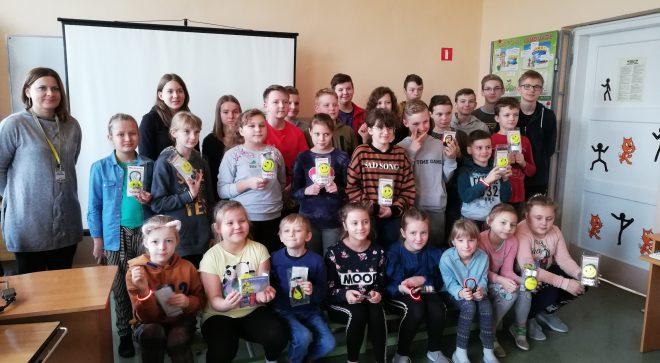 Ważna lekcja w szkole w Pawłowie
