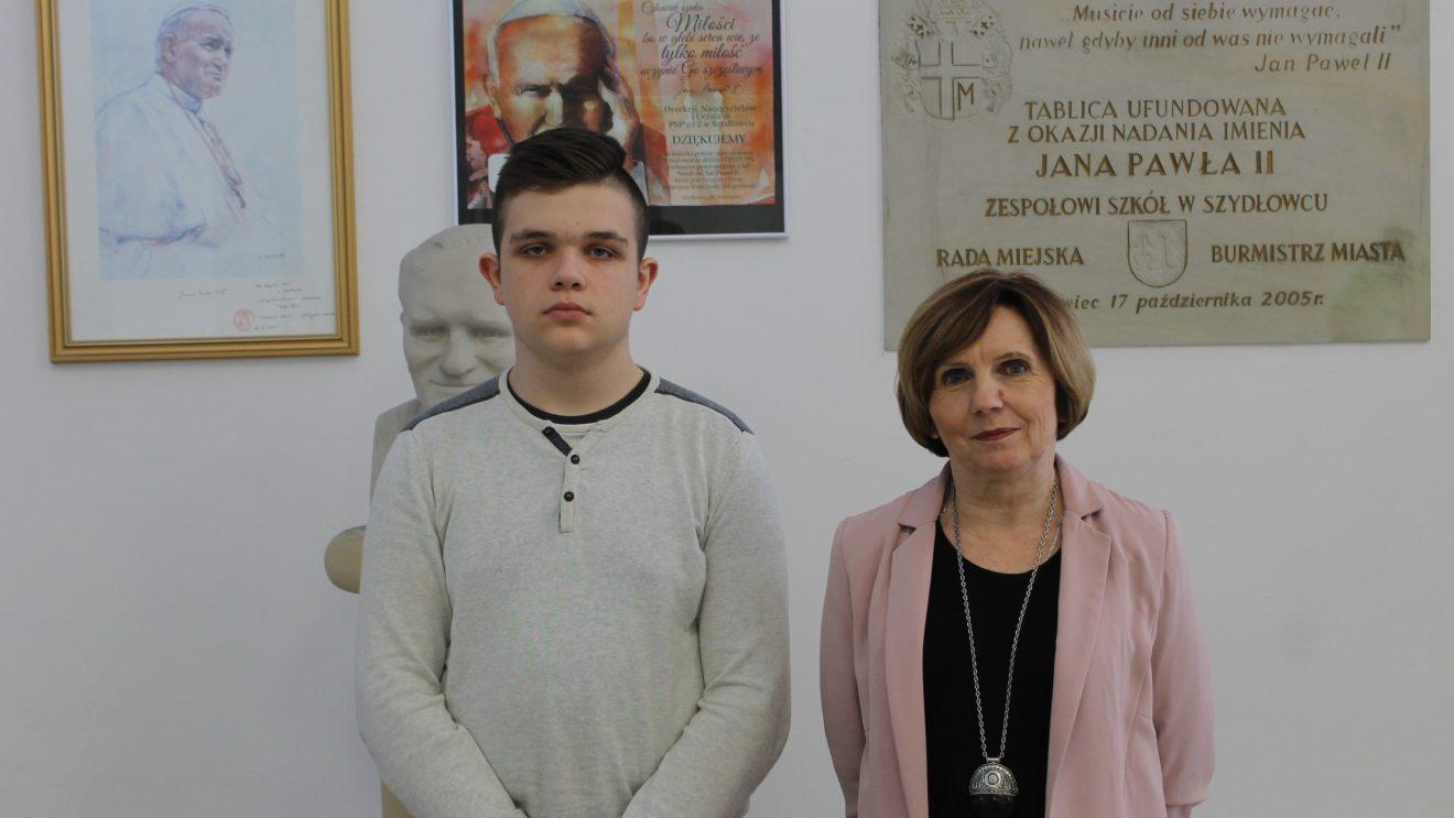 Łukasz Janas w finale wojewódzkim