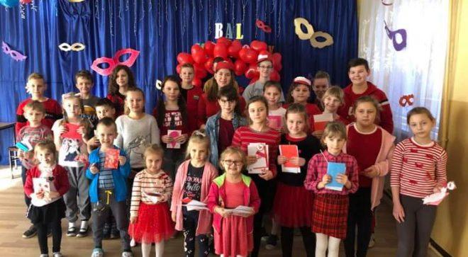 Święto zakochanych w szkole w Pawłowie