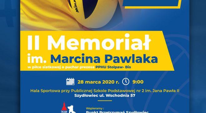 Już niebawem II Memoriał Siatkarski im. Marcina Pawlaka