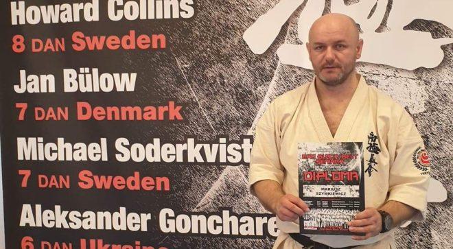 Mariusz Szymkiewicz uczył się od legendarnych karateków