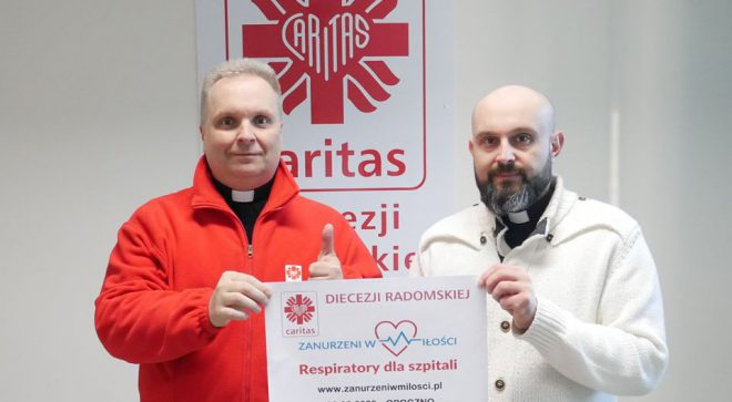 """Radomski """"Caritas"""" robi zbiórkę na respiratory"""