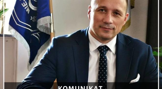 Komunikat burmistrza Szydłowca