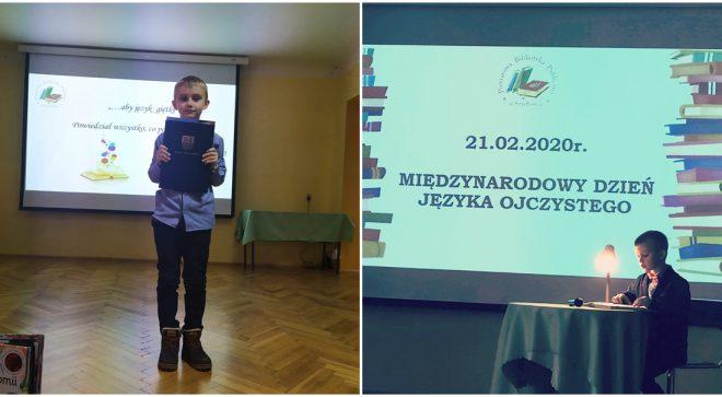 Piotr Sadowski powiatowym mistrzem czytania