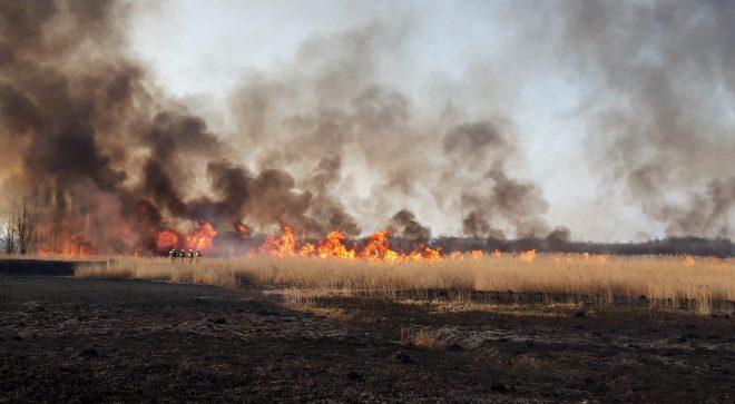 Weekend pełen pożarów