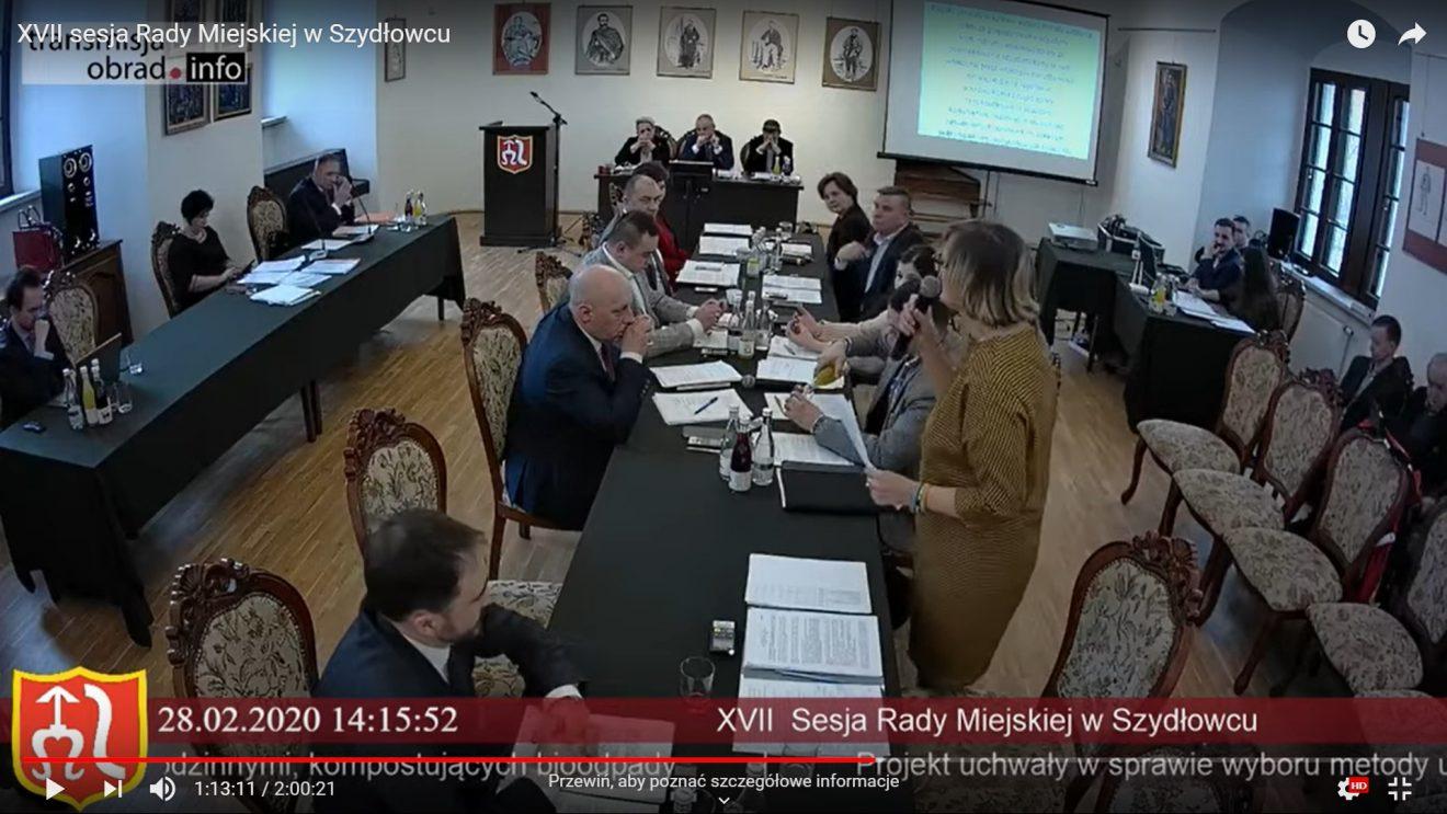 Wzrośnie opłata za odbiór śmieci. Burzliwa sesja Rady Miejskiej.