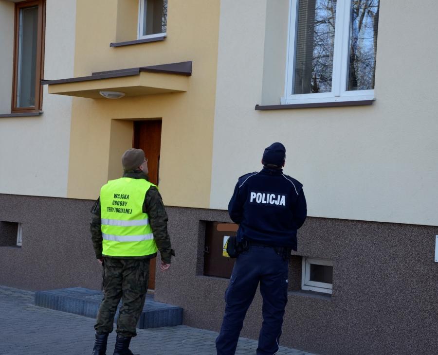 Terytorialsi stacjonują w Szydłowcu