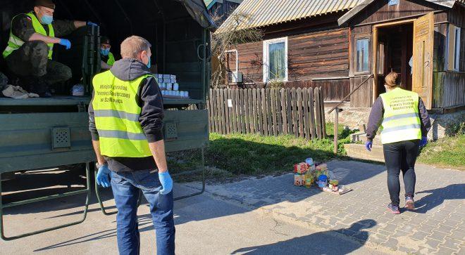 Dystrybucja żywności na terenie gminy Szydłowiec