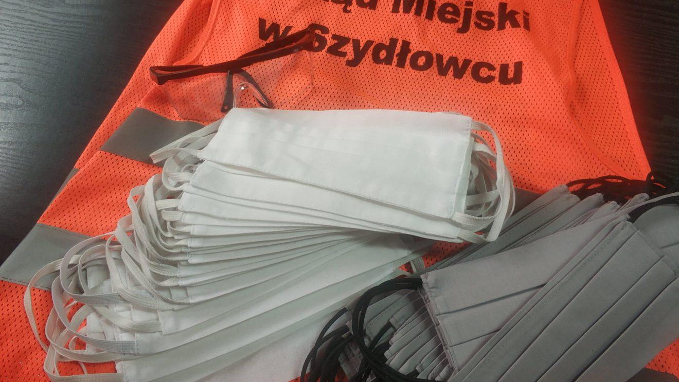 Maseczki dla seniorów gminy Szydłowiec