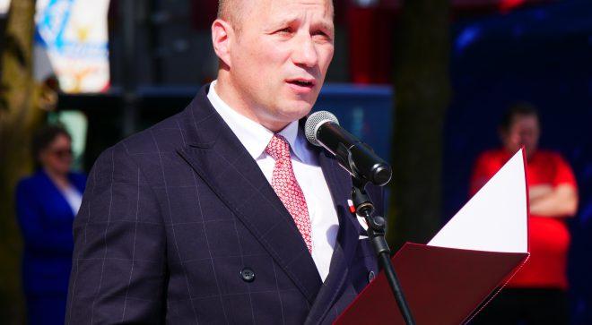 Rozmowa z burmistrzem Szydłowca