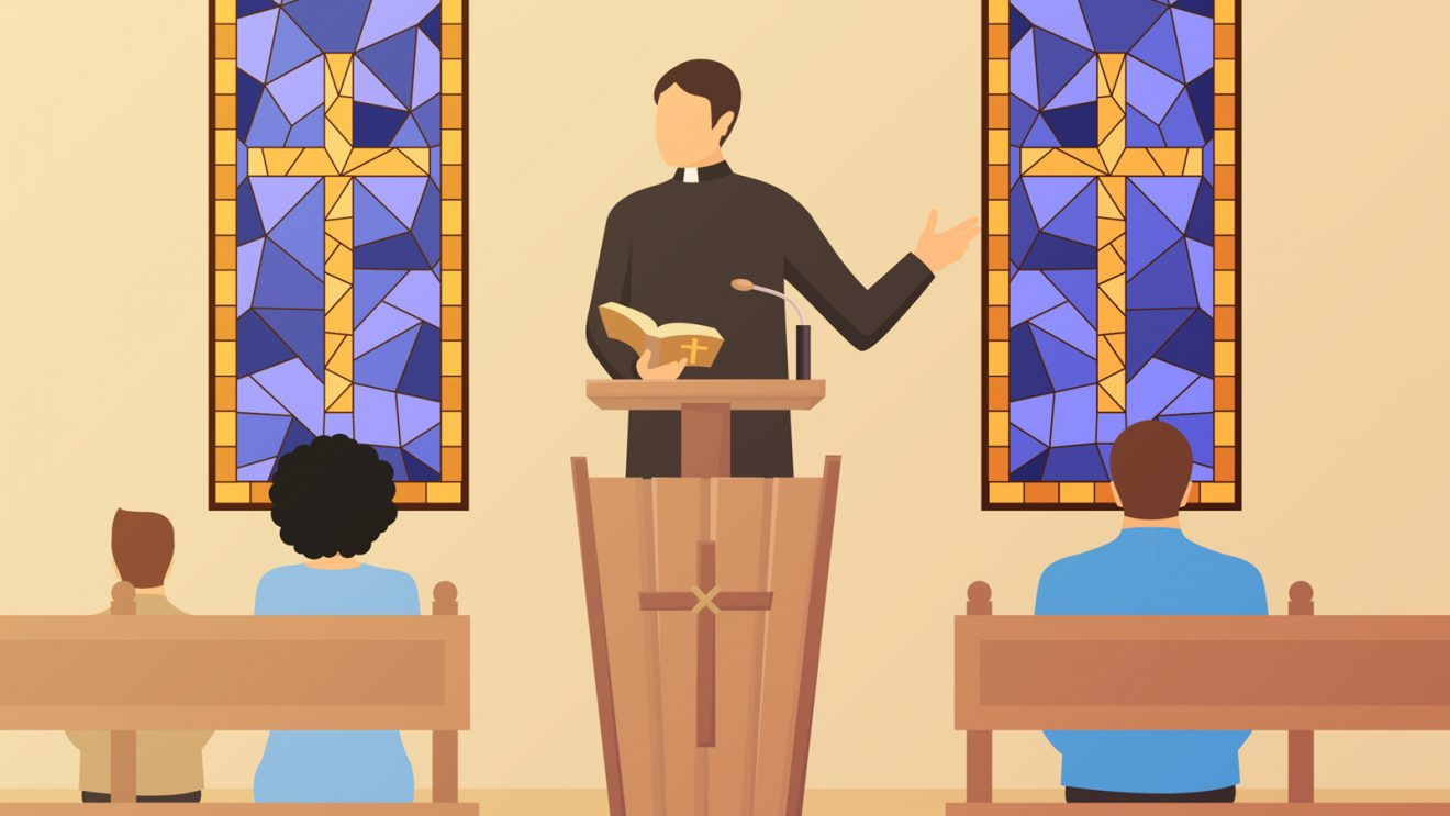 Czy zakrycie twarzy będzie obowiązywało w kościele?