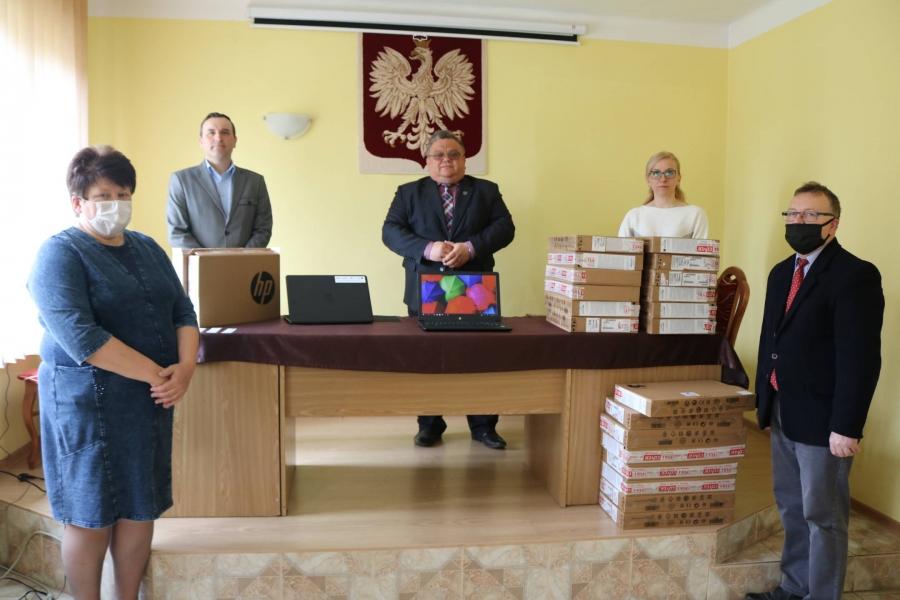 Laptopy już w Mirowie