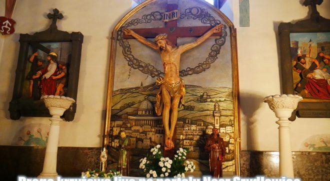 Transmisja Drogi Krzyżowej z kościoła św. Zygmunta w Szydłowcu 3.04.2020
