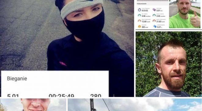 Pobiegli w Biegu Zygmuntów Online