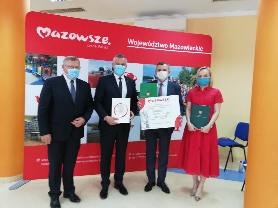 Dofinansowanie dla gminy Orońsko