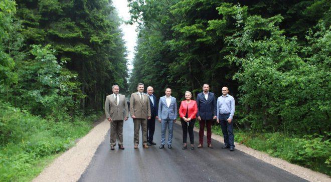 Droga z dofinansowaniem z Lasów Państwowych