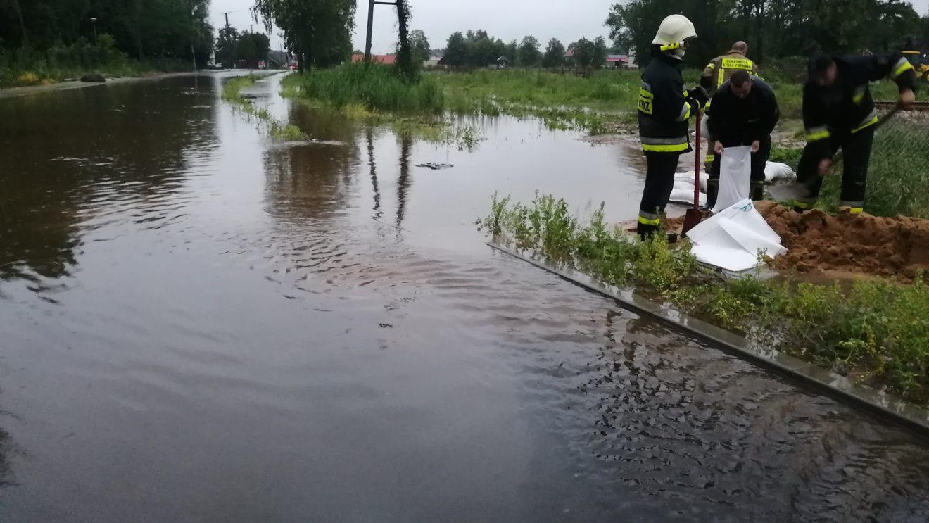 Ulewa nie oszczędziła powiatu szydłowieckiego