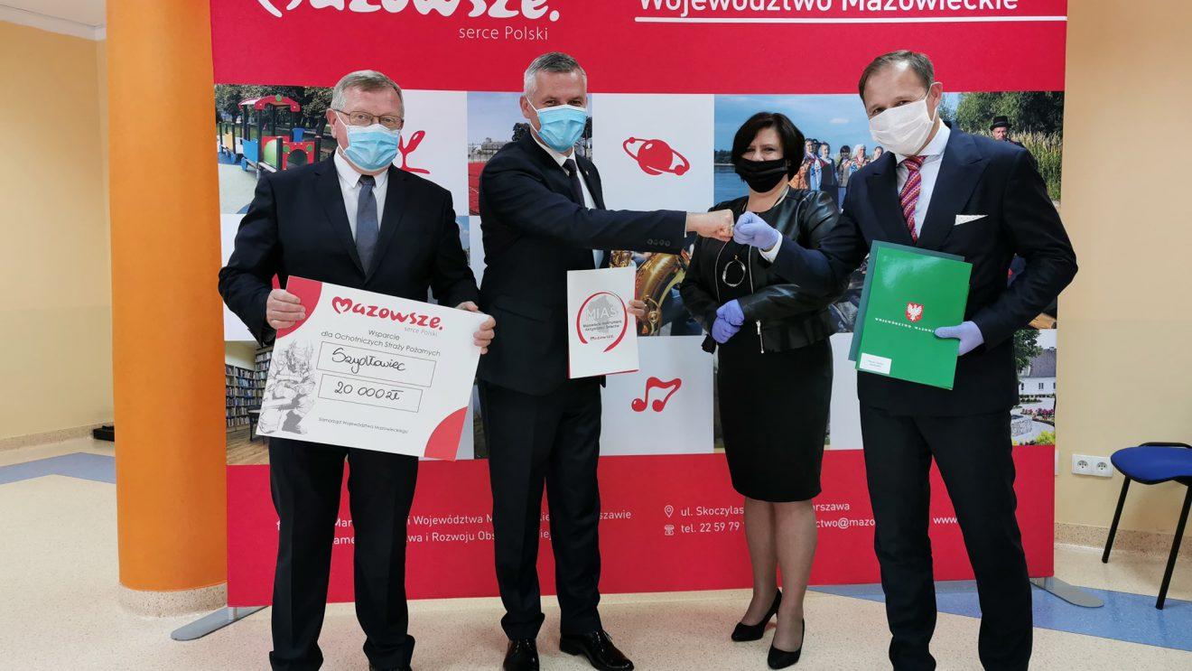 Dofinansowania dla gminy Szydłowiec