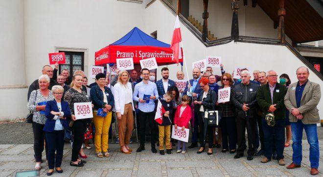 Szydłowiecki PiS przekonywał do głosowania na Andrzeja Dudę