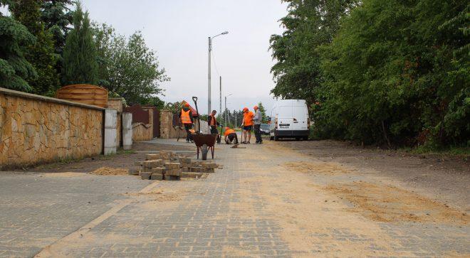 Nowa nawierzchnia ulicy Różanej w Szydłowcu