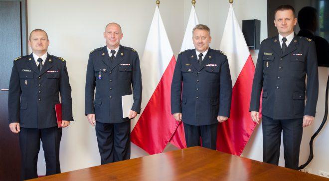 Mł.bryg. Paweł Górski zastępcą komendanta szydłowieckiej straży pożarnej