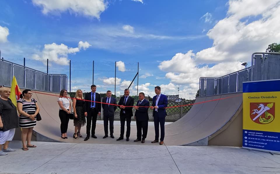 Skatepark w Orońsku