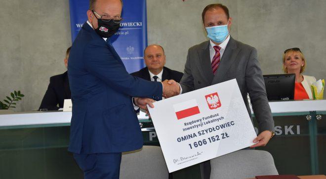 Kolejne fundusze dla gminy Szydłowiec