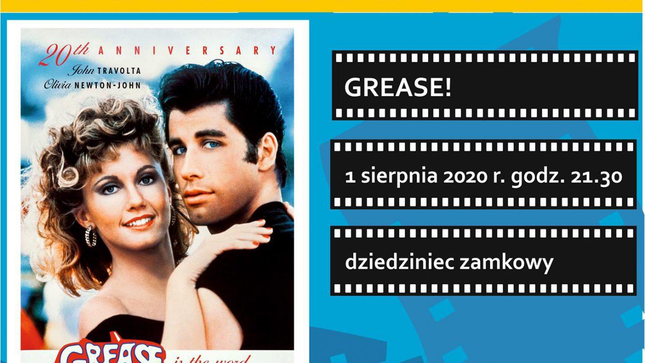 """Zamkowe Kino Letnie zaprasza na """"Grease"""""""
