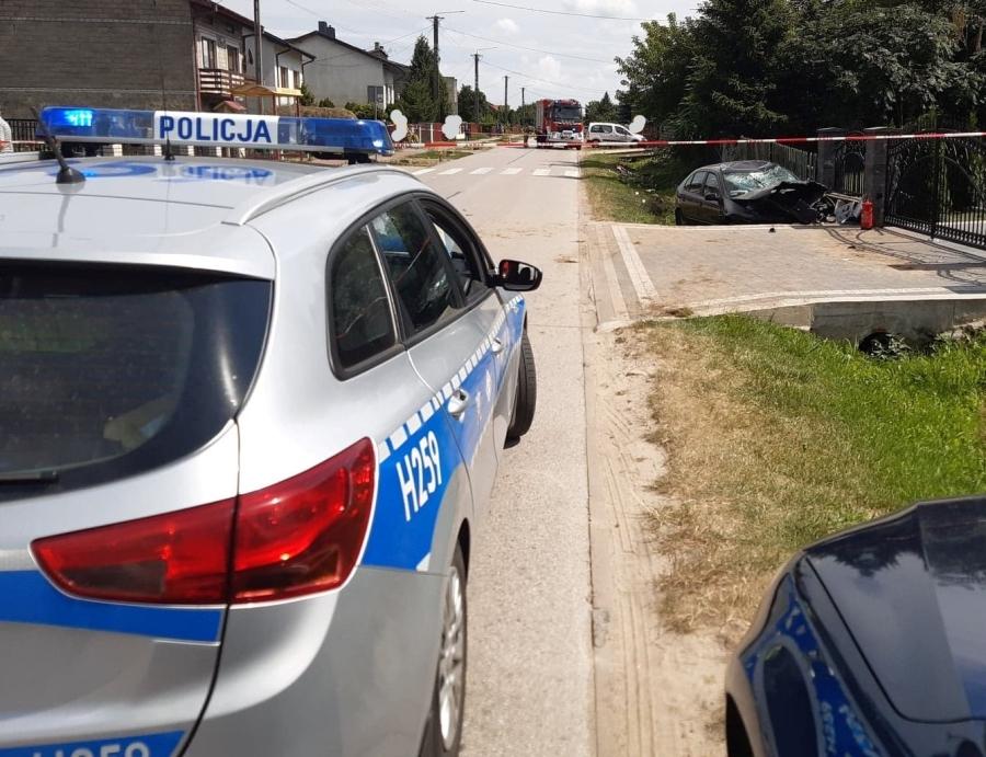 13 – letni rowerzysta zginął w Rogowie