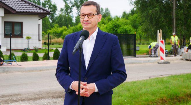 Premier Mateusz Morawiecki odwiedził Szydłowiec