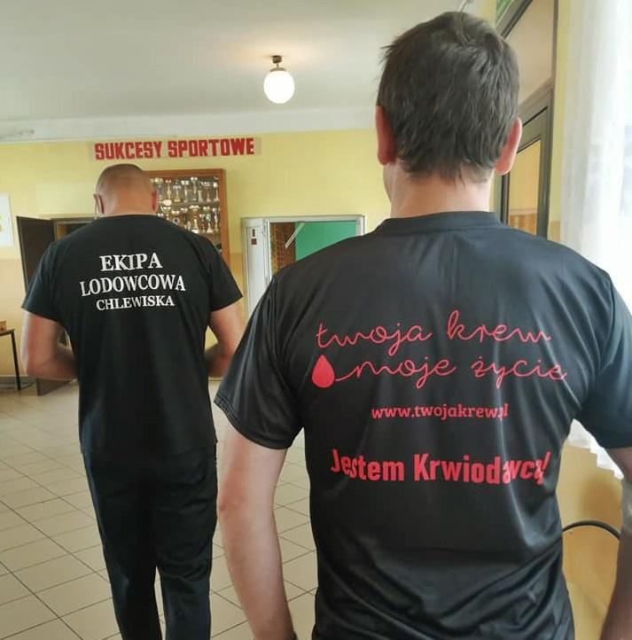 Ekipa Lodowcowa organizuje zbiórkę krwi
