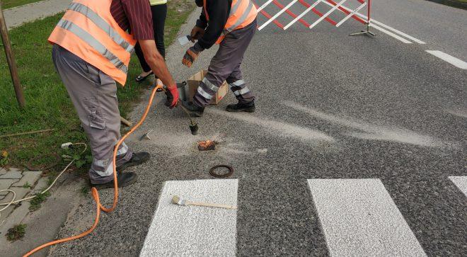 Poprawa bezpieczeństwa pieszych