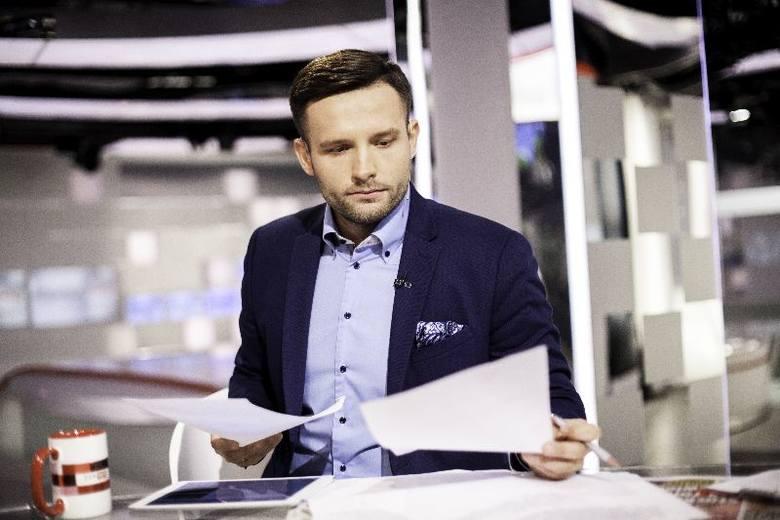"""Karol Gnat w zespole radiowej """"Trójki"""""""
