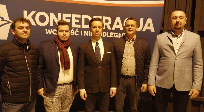 Konfederacja będzie zbierała podpisy w Szydłowcu