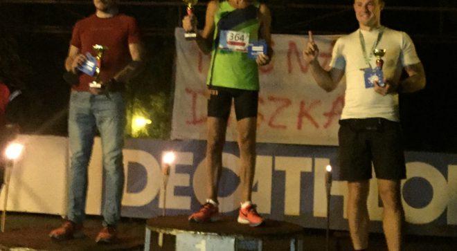 Nasi biegacze najlepsi w nocnym biegu