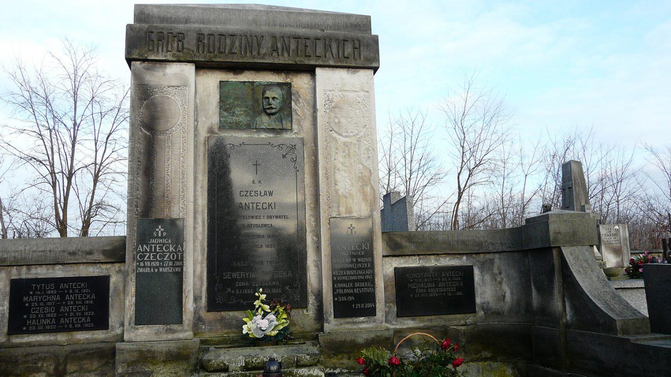 Historia rodziny Anteckich z Szydłowca