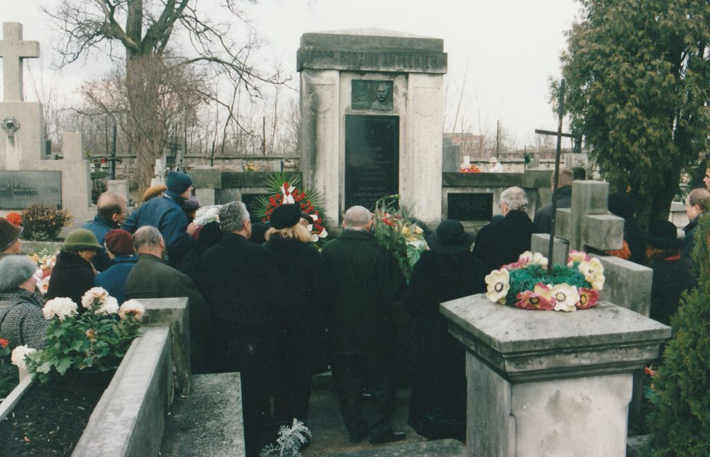 Pogrzeb Kazimierza Anteckiego