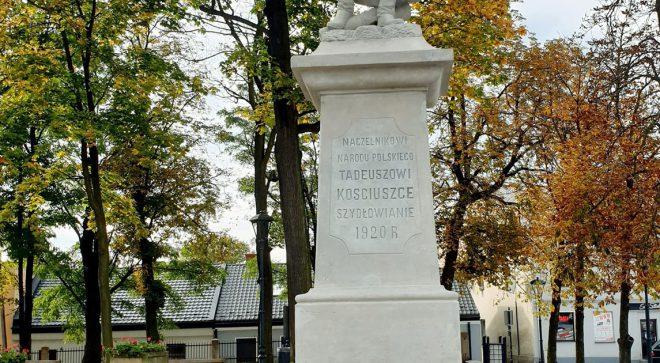 Pomnik Tadeusza Kościuszki odnowiony