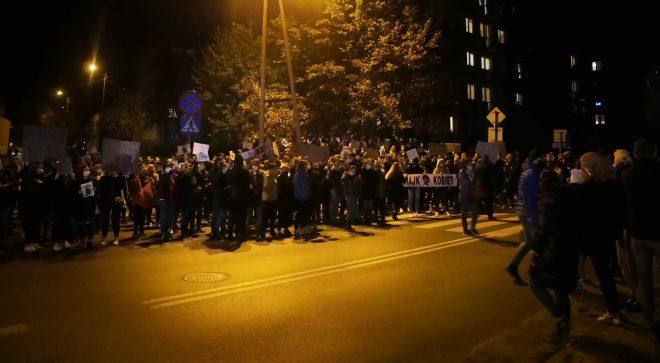 Nie odpuszczają. W Szydłowcu znów protest!