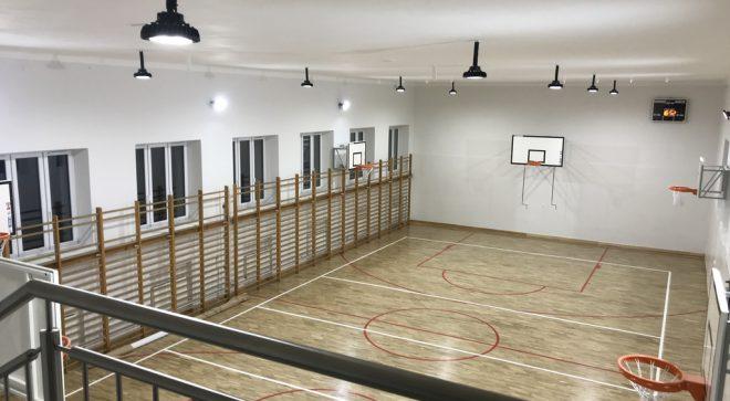 Nowa odsłona sali sportowej w szydłowieckim liceum