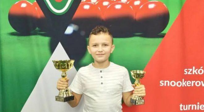 Mistrz Polski w snookerze z Jastrzębia