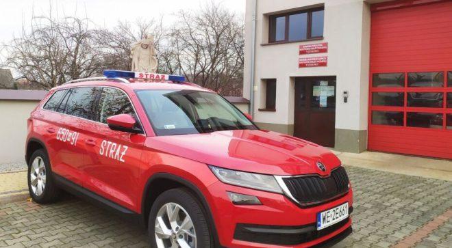 Nowy samochód w szydłowieckiej straży pożarnej